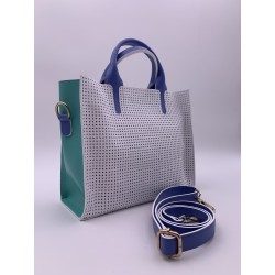0013 LITTLE TOTE BLANC,...